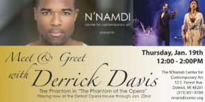 Meet & Greet with Derrick Davis
