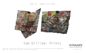 GILLIAM flyer