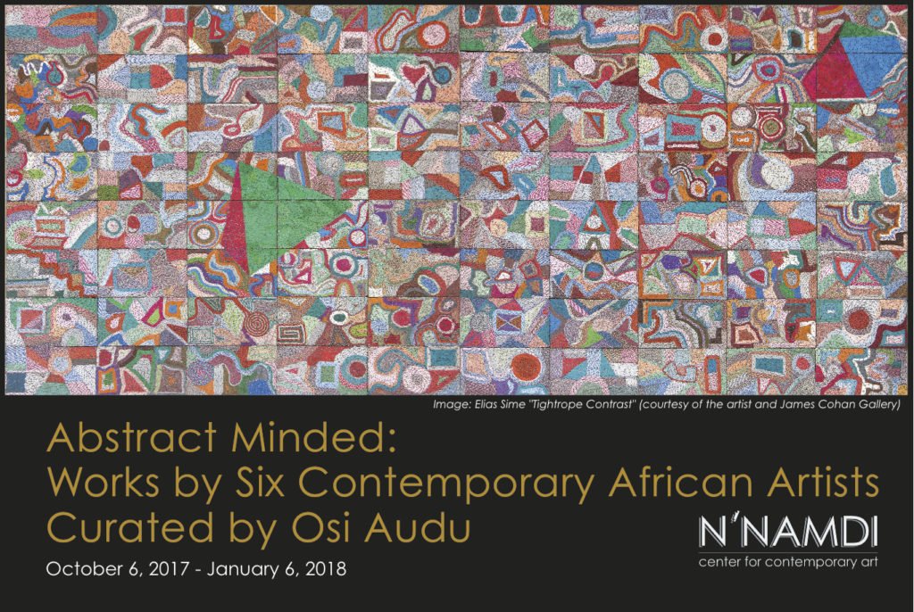 "Opening Reception - ""Abstract Minded: Works by Six Contemporary African Artists"" Curated by Osi Audu"