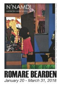 """Opening Reception: """"Romare Bearden"""""""